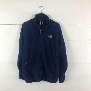 The North Face Fleece Zip Up Jacket Size L